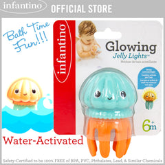 INFANTINO Glowing Jelly Light™ (1-Piece), Water-Activated Light
