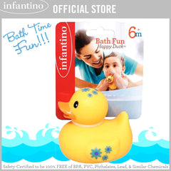 INFANTINO Bath Fun Happy Duck (BPA-Free)