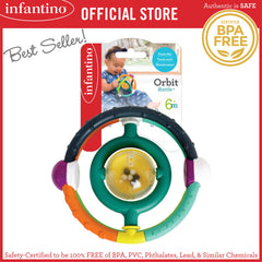 INFANTINO Orbit Rattle™ (BPA-Free)