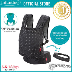INFANTINO Zip™ Ergonomic Travel Carrier