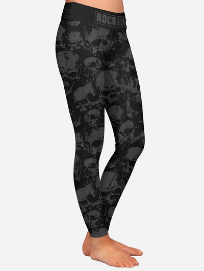 100 Skulls Rock'R Leggings