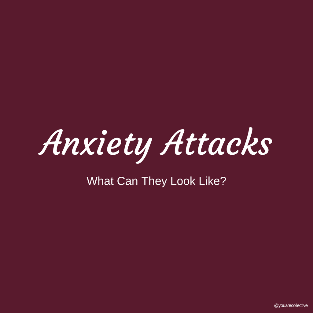 What anxiety attacks can look like explained by you are collective's mental health and mental illness community. learn more about the differences between anxiety and panic attacks.
