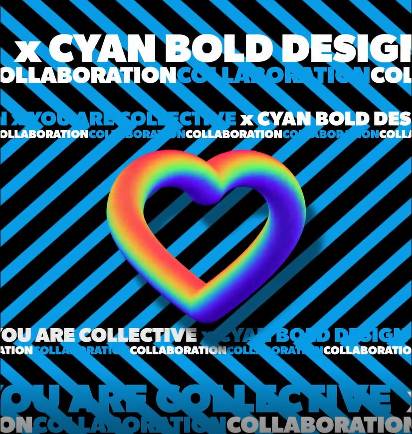 You Are Collective and Cyan Bold Design in Kelowna BC create a new collection for Pride 2020 in support of Bride Services and Etcetera Youth Group