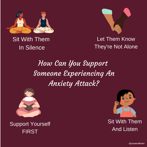 How You Can Support Someone Through and During An Anxiety Attack Part 1