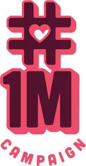 1 million campaign emotional support logo