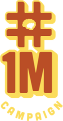 1 million campaign biological and physical care logo