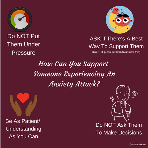 How You Can Support Someone Through and During An Anxiety Attack Part 3