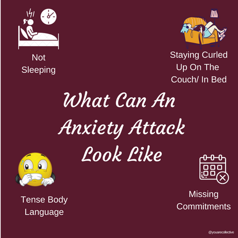 what can an anxiety attack look like, share what anxiety looks like to you, explaining the physical symptoms of anxiety and anxiety attacks