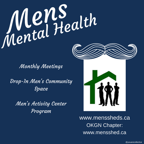 the canadian chapter mens den for mens mental and physical health engaging in local community activites for men and mens mental health support