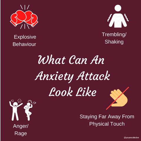 what can an anxiety attack look like, we asked our mental health community and here's what they had to say about the signs and symptoms about anxiety and feeling anxious