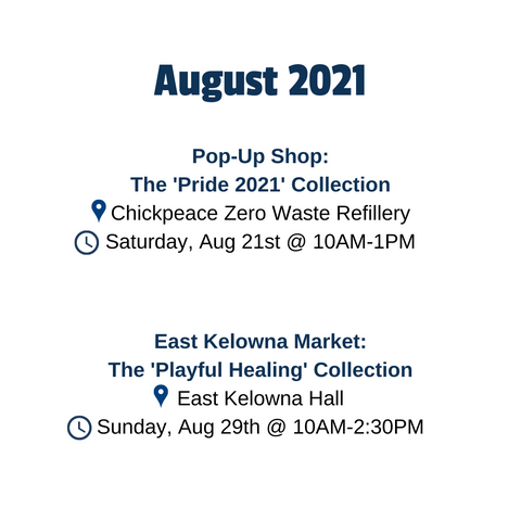 August 2 You Are Collective events in Kelowna