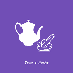 try using a combination of relaxing and soothing herbs and teas to manage anxiety