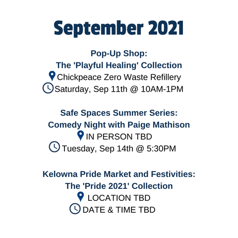 September You Are Collective events in Kelowna