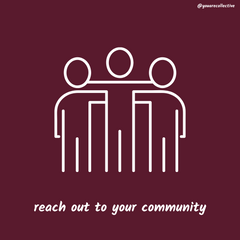 Within social distance make sure to stay connected to your community and help support local and small business