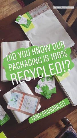 ecoenclose environmentally sustainable packaging made from recycled product
