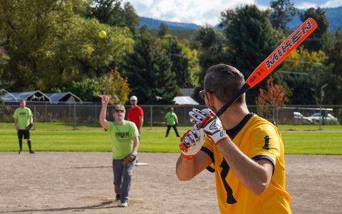 The Bridge Youth And Family Services Slo Pitch Team At You Are Collective's Strike Out The Stigma Charity Tournament