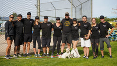 mamas for mamas kelowna at strike out the stigma mental health charity tournament