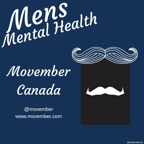 Movember Canada for men's health and men's mental health campaign 2020