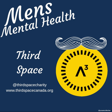 Third Space charity men's mental health advocates and programs for men's health in Movember 2020 campaign