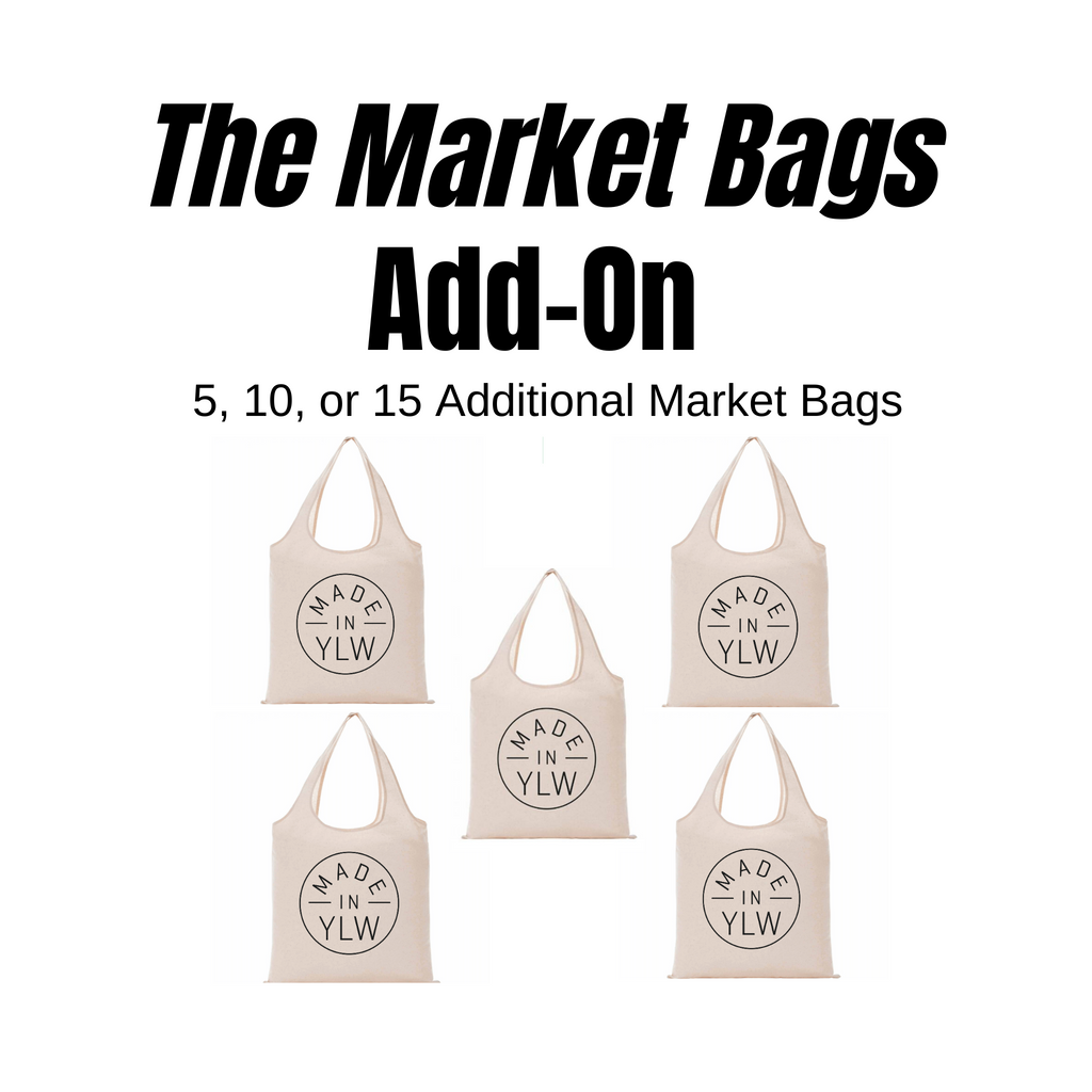 WHOLESALE ONLY- Market Bags Add-On