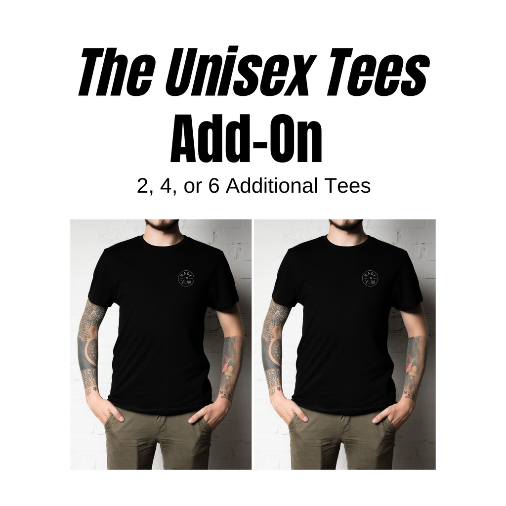 WHOLESALE ONLY- Tee Add-On