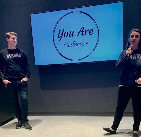 You Are Collective Founders Rebecca and Michael