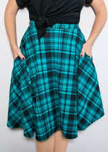 Bloom Skirt - XL - Blue Plaid