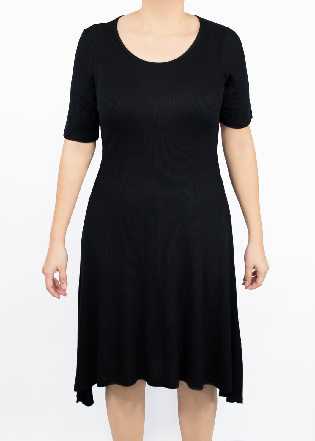Poppy Dress - Small - Black
