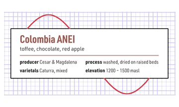 Sine Colombia Anei 340g