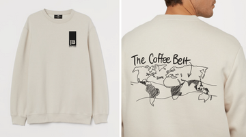 Java Blend Coffee Belt Sweatshirt