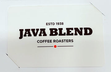 Java Blend Gift Card - In store