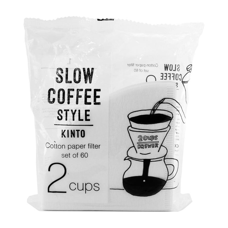 KINTO SLOW COFFEE STYLE PAPER FILTER 2 CUP