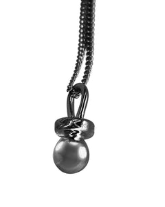 Sucker Necklace - Oxidized