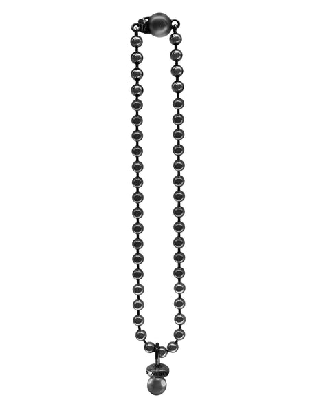 Sucker Necklace w/ Ball Chain- Oxidized