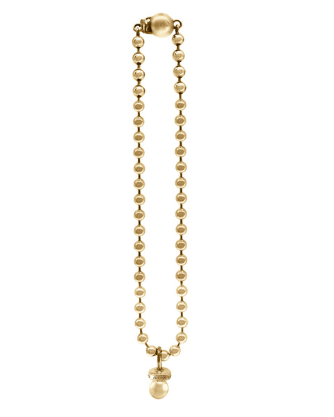 Sucker Necklace w/ Ball Chain- Gold Plated