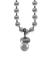 Sucker Necklace w/ Ball Chain- Sterling Silver