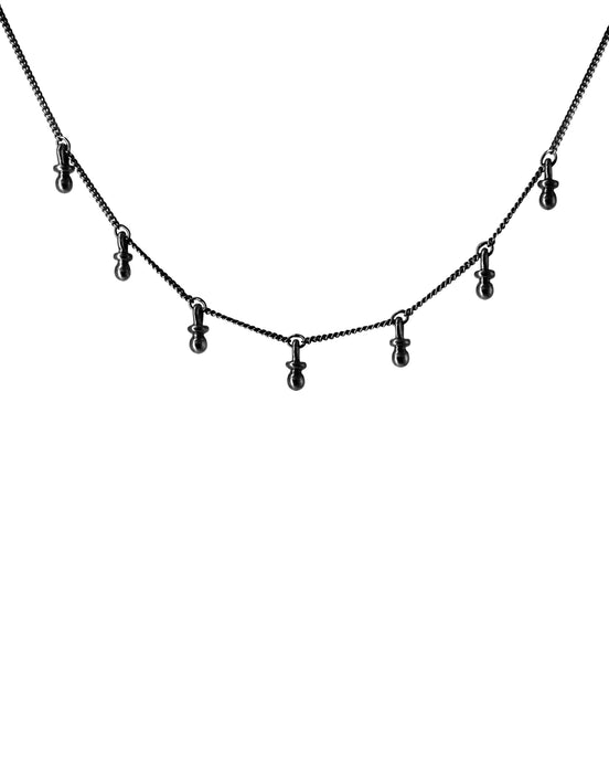 Be my Bebe Choker - Oxidized