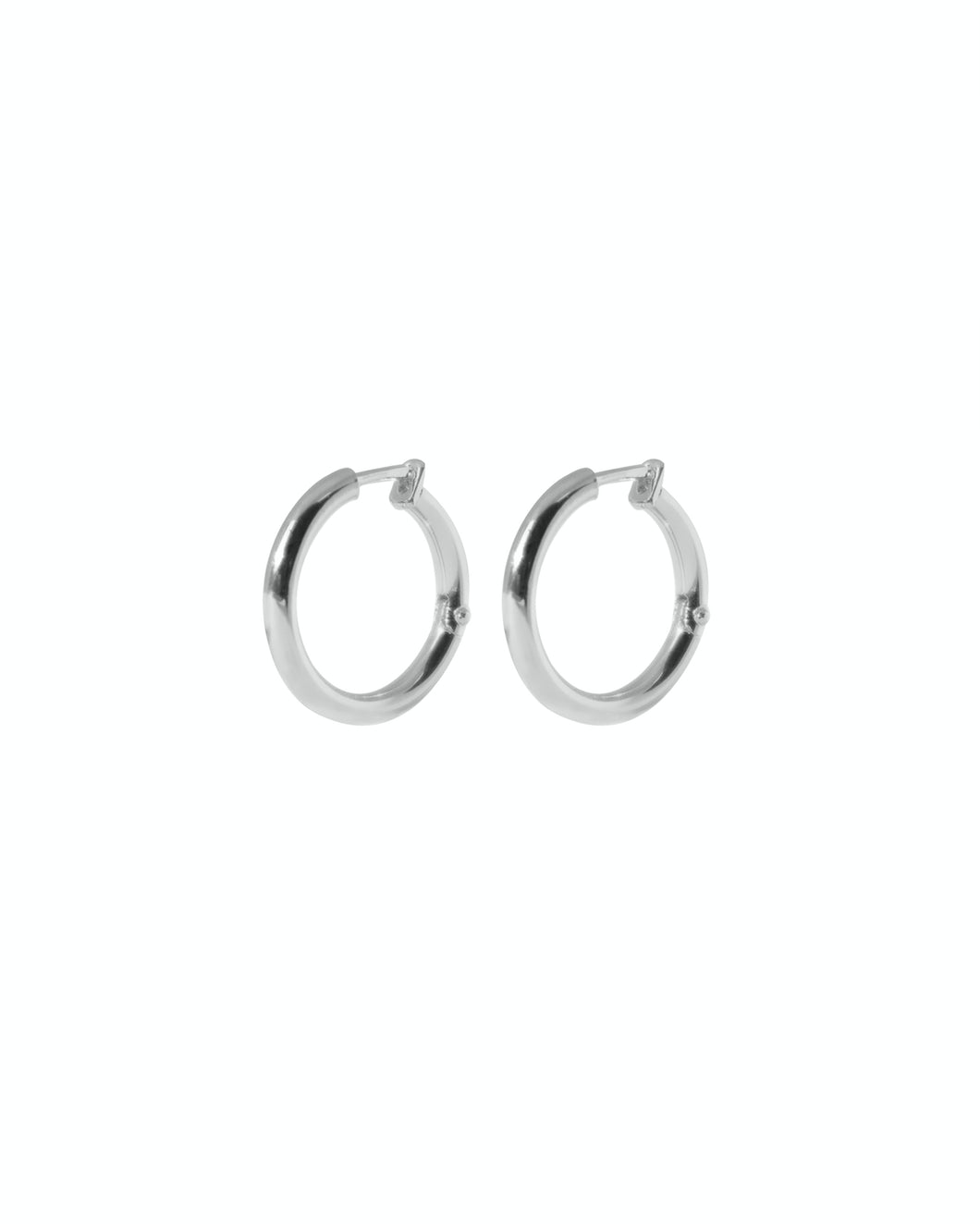Arco Hoops - Silver