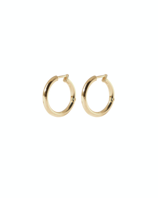 Arco Hoops - Gold plated