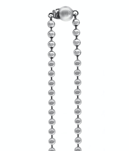 Ball Chain Necklace - Sterling Silver