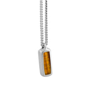 Theo Ojo de Tigre Necklace