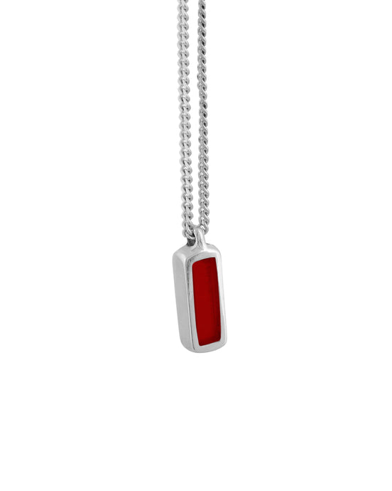 Theo Rojo Necklace