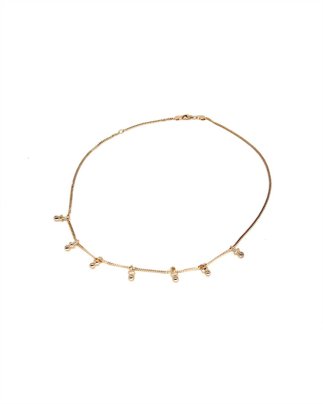 Be my Bebe Choker - Gold plated