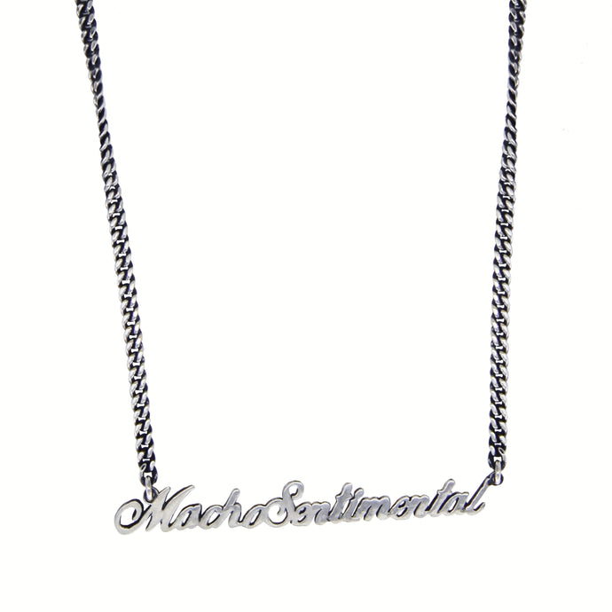 Macho Sentimental Necklace