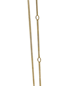 Mini Sucker Necklace - Gold Plated
