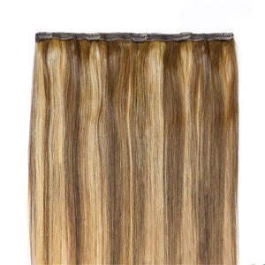 Ritzy Blend Piano Colour Human Hair in 1 piece - Seamless1