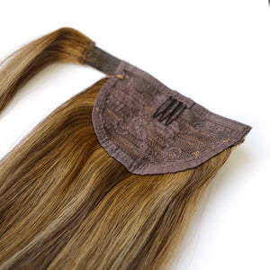 Salt n Pepper Balayage Colour Ponytail - Seamless1