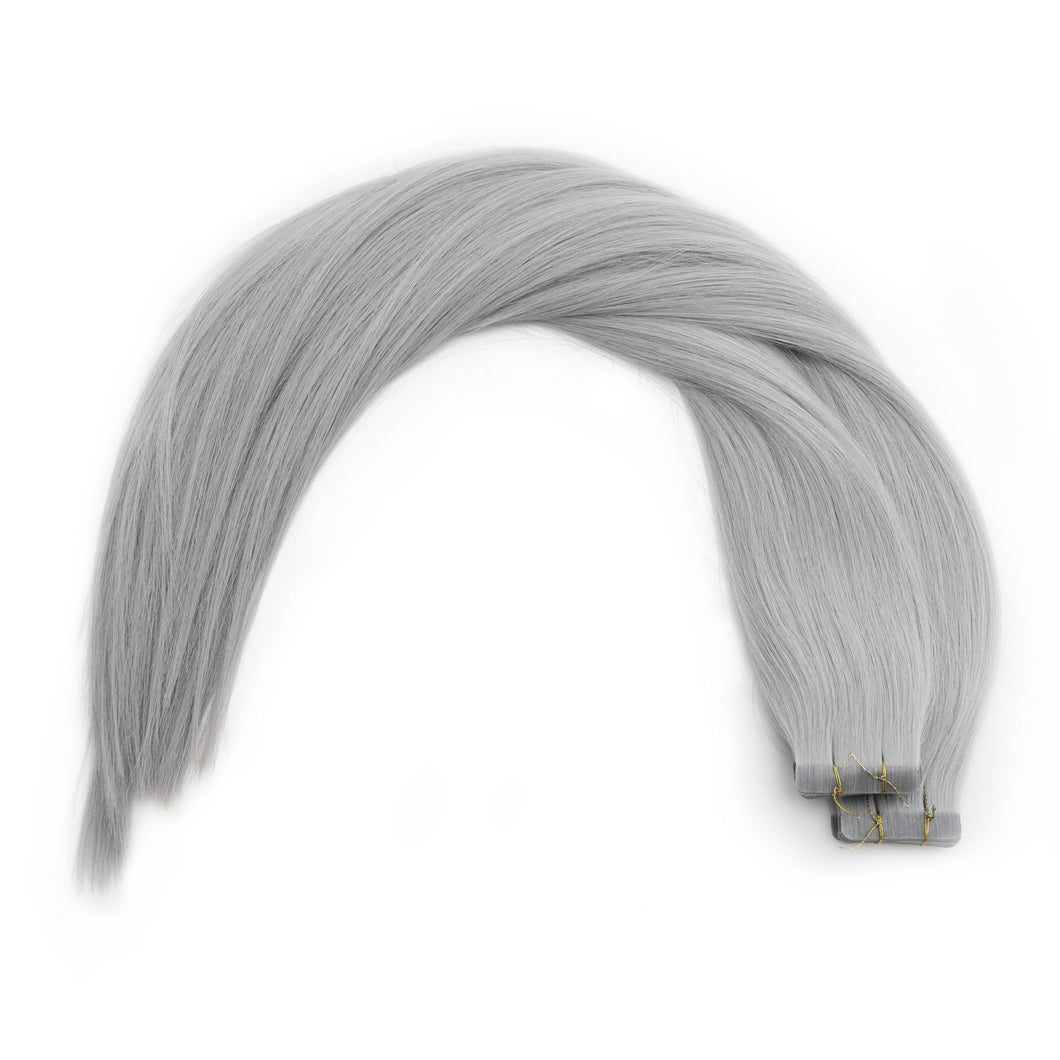 Silver Fox Tape In Extensions