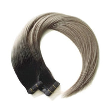 Salt & Pepper Balayage Colour Tape Invisible Range - Seamless1