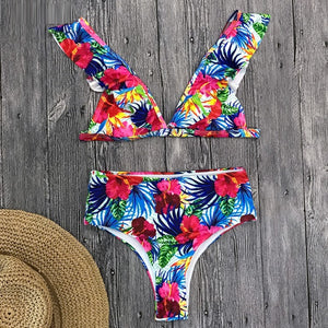 Bright Ellie Floral Swimsuit